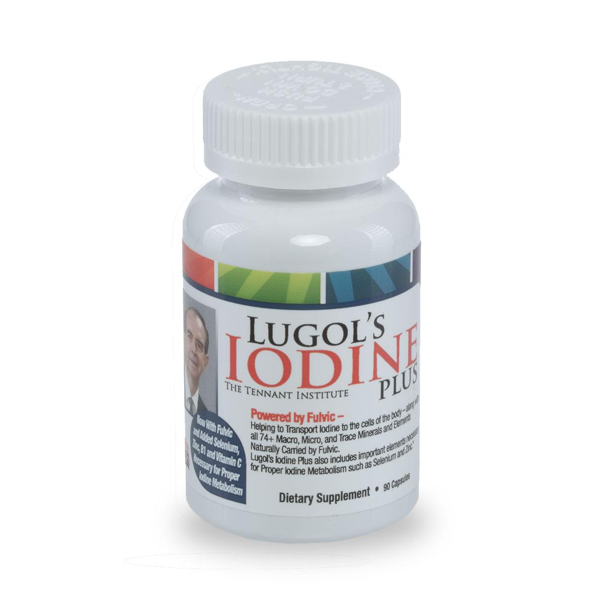 Iodine Plus Lugols formula