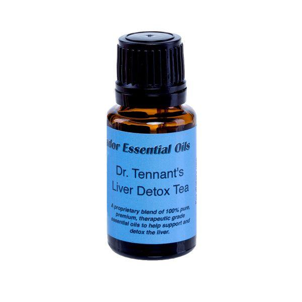 Dr Tennant Detox essential oil blend 15 ml bottle