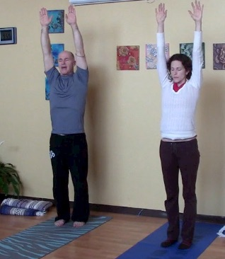 Shoulder Energizer Stomach Lift 3rd Yogoda exercise