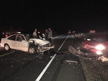 Car Crash of Oct 29th 2017 7:30 pm near tigard